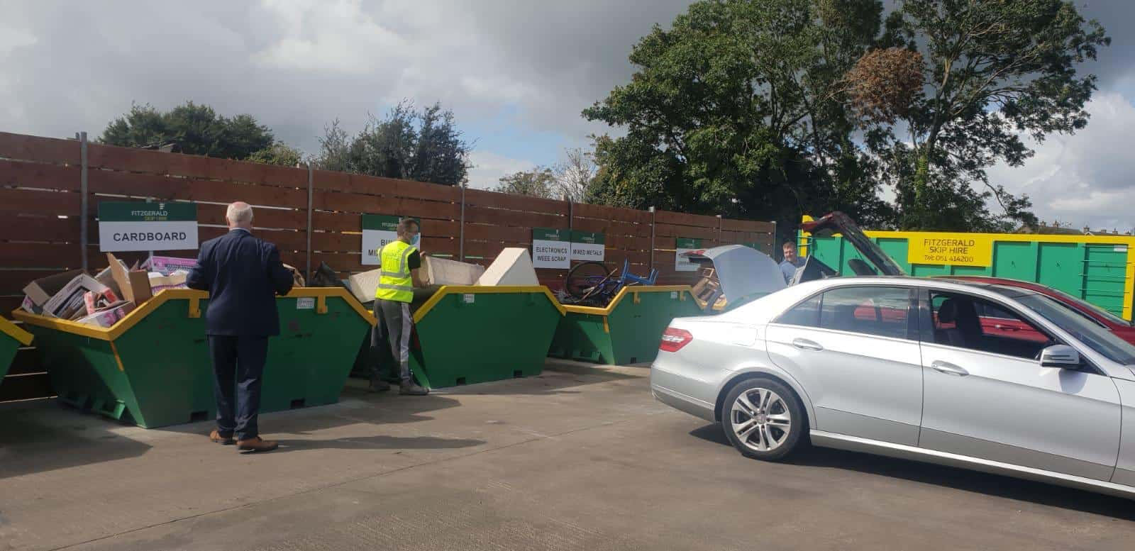 New recycling centre, Fitzgerald skip hire, limerick